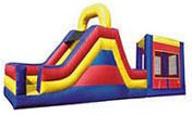 3-in-1 Combo Bounce House