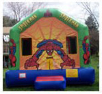 Adventurous Spiderman Bounce House