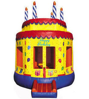 Happiest Birthday Cake Bounce House