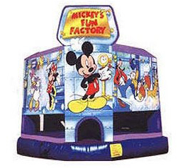 Mickey's Fun Factory Bounce House
