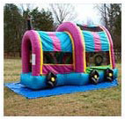 Train Obstacle Bounce House