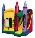 Crayon Playland Bounce House