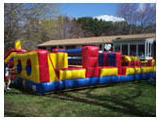 Obstacle Course Bounce House Racing