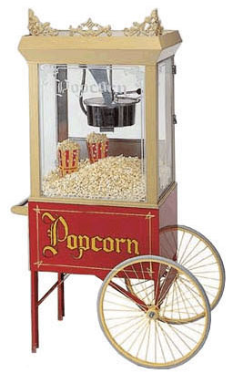 Classic Popcorn Rental Machine