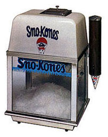 Sno Cone Rental Machine