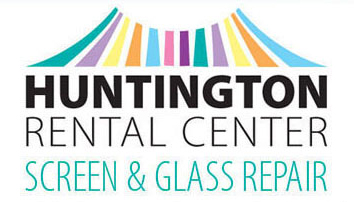 Huntington Rental and Screen and Glass Repair Logo