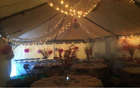 Tent Lighting Option